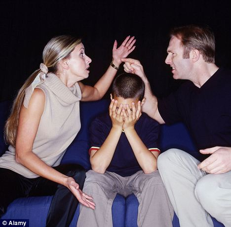 Argument: One in five children from a broken home loses touch with the parent that leaves the family home within just three years. (Picture posed by models) Read more: http://www.dailymail.co.uk/news/article-2158490/Mothers-deny-fathers-access-couple-s-children-break-jailed.html#ixzz38CIYt5u2  Follow us: @MailOnline on Twitter   DailyMail on Facebook